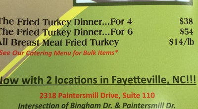 Photo of Sandwich Place Fried Turkey Shop at 2318 Painters Mill Dr, Fayetteville, NC 28304, United States