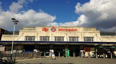 Photo of Train Station Wimbledon Railway Station (WIM) at The Broadway, London SW19 7NL, United Kingdom