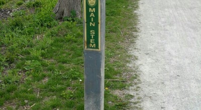 Photo of Trail Illinois Prairie Path - Mile Marker 1 at United States