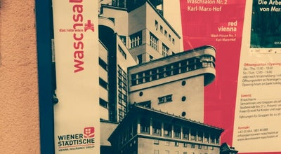 Photo of Museum Waschsalon Karl-Marx-Hof at Halteraugasse 7, Wien 1190, Austria
