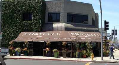 Photo of Cafe Fratelli Cafe at 7200 Melrose Ave, Los Angeles, CA 90046, United States