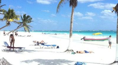 Photo of Beach Playa Paraiso at Tulum, Mexico