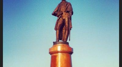 Photo of Monument / Landmark Памятник Н.П. Резанову at Пл. Мира, Красноярск, Russia