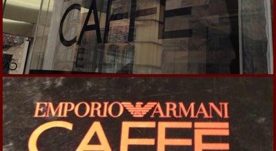 Photo of Cafe Emporio Armani Caffè at Via Croce Rossa 2, Milano 20121, Italy