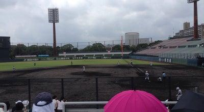 Photo of Baseball Field 鹿児島県立 鴨池野球場 at 与次郎2-2-2, 鹿児島市 890-0062, Japan