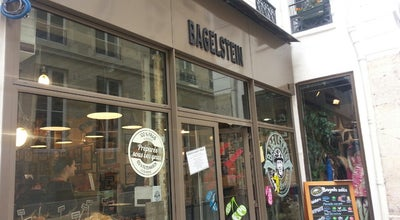 Photo of Bagel Shop Bagelstein at 7 Rue Saint-augustin, Paris 75002, France