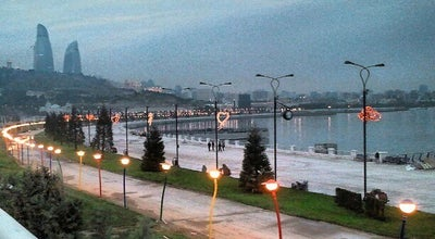 Photo of Park Yeni Bulvar | New Boulevard at Dənizkənarı Milli Park, Baku, Azerbaijan