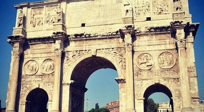 Photo of Monument / Landmark Arco di Costantino at Via San Gregorio, Roma 00184, Italy
