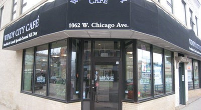 Photo of American Restaurant windy city cafe at 1062 W Chicago Ave, Chicago, IL 60642, United States