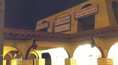 Photo of Taco Place El Indio Azteca at 4229 Slauson Ave, Maywood, CA 90270, United States
