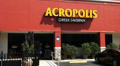 Photo of Greek Restaurant Acropolis Greek Taverna at 14947 Bruce B Downs Blvd, Tampa, FL 33613, United States