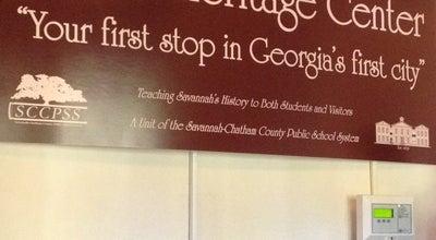 Photo of Tourist Attraction Massie Heritage Center at 207 E Gordon St, Savannah, GA 31401, United States