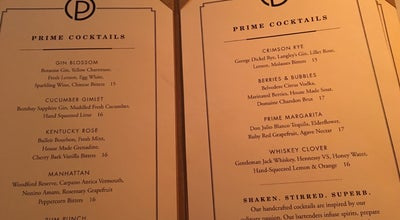 Photo of American Restaurant Ocean Prime at 123 W 52nd St, New York City, NY 10019, United States