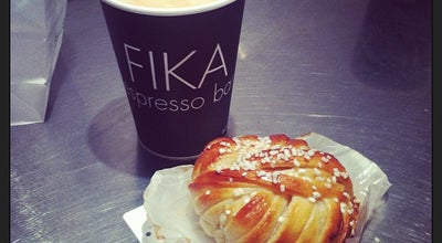 Photo of Coffee Shop FIKA Swedish Espresso Bar at 41 West 58th St # 2, New York, NY 10019, United States