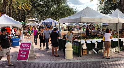 Photo of Farmers Market West Palm Beach Green Market at 222 Clematis St, West Palm Beach, FL 33401, United States