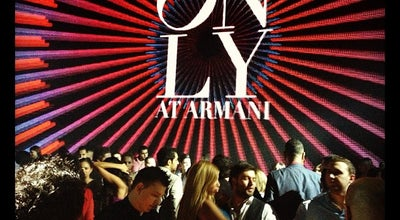 Photo of Nightclub Armani Club at Дубай, United Arab Emirates
