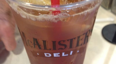 Photo of Sandwich Place Mcalisters Deli at 4210 82nd St #212, Lubbock, TX 79423, United States