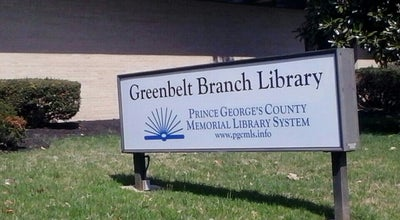 Photo of Library Greenbelt Branch Library at 11 Crescent Rd, Greenbelt, MD 20770, United States