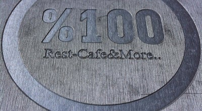 Photo of Cafe %100 Rest Cafe & More at Kültür Mah. Dr. Mustafa Bey Cad. Alsancak, Konak, Turkey