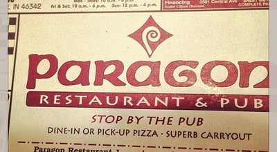 Photo of American Restaurant Paragon Restaurant at 1701 E 37th Ave, Hobart, IN 46342, United States