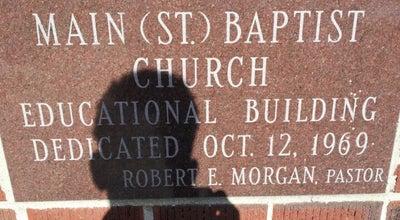 Photo of Church Main Baptist Church at 814 E Galena Blvd, Aurora, IL 60505, United States
