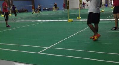 Photo of Tennis Court Kompleks Sukan Airport (badminton) at Putra Nilai, Malaysia