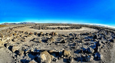 "Photo of Monument / Landmark Robert Smithson's Spiral Jetty at N41° 26' 17"" W112° 40' 02"", Rozel Bay, UT 84307, United States"