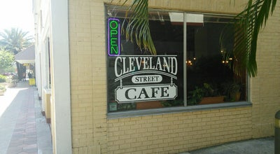 Photo of Italian Restaurant Cleveland Street Cafe at 615 Cleveland St, Clearwater, FL 33755, United States