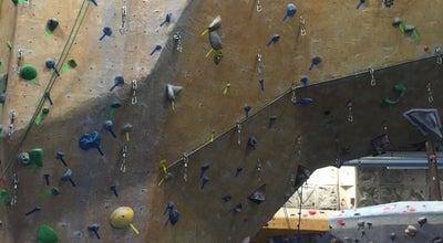 Photo of Rock Climbing Spot Toronto Climbing Academy at 11 Curity Ave,, Toronto, Ca M4B 1X4, Canada