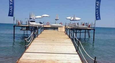 Photo of Beach Bar Mai Tai Beach Club at Lara Plajı, Muratpaşa, Turkey