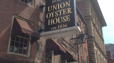 Photo of Seafood Restaurant Union Oyster House at 41 Union St, Boston, MA 02108, United States