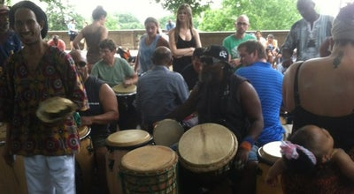 Photo of Concert Hall Meridian Hill Park Drum Circle at 2401-2461 16th St Nw, Washington, DC 20009, United States