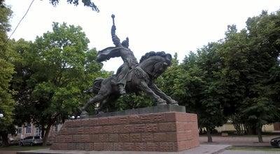 Photo of Monument / Landmark Пам'ятник Богдану Хмельницькому at Вул. Гагаріна, Хмельницький, Ukraine