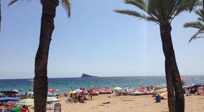 Photo of Beach Playa de Benidorm at Playa De Poniente, Benidorm, Spain