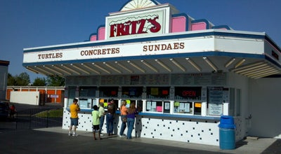 Photo of Ice Cream Shop Fritz's Frozen Custard at 815 Meramec Station Rd, Twin Oaks, MO 63088, United States