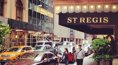 Photo of Hotel St. Regis Hotel at 2 E 55th St, New York, NY 10022, United States