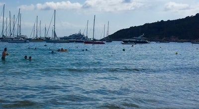 Photo of Beach Playa De Las Salinas at Ibiza, Spain