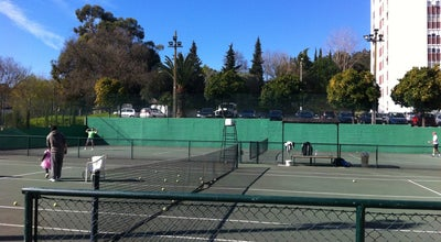 Photo of Tennis Court Qta das Flores Tenis Clube at Portugal