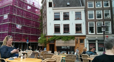 Photo of Cafe Villa Zeezicht at Torensteeg 7, Amsterdam 1012 TH, Netherlands