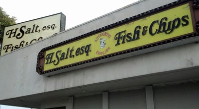 Photo of Fish and Chips Shop H Salt Esquire Fish And Chips at 12951 San Pablo Ave, Richmond, CA 94805, United States
