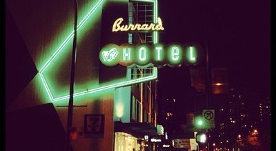 Photo of Hotel The Burrard at 1100 Burrard Street, Vancouver, BC V6Z 1Y9, Canada