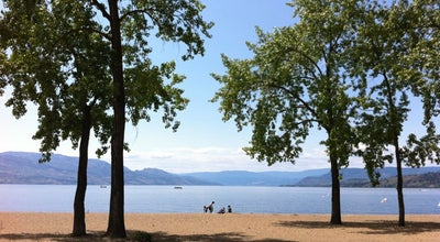 Photo of Beach Gyro Beach Park at 3400 Lakeshore Rd, Kelowna, BC, Canada