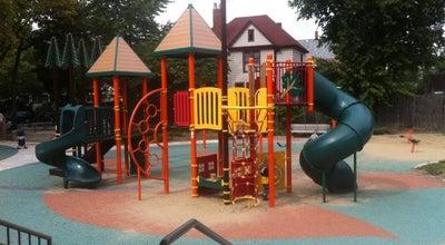 Photo of Playground Fox Park at 640 S Oak Park Ave, Oak Park, IL 60304, United States