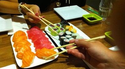 Photo of Sushi Restaurant FUSO Sushi & Wok at Stationsplein 15, Eindhoven 5611 AB, Netherlands