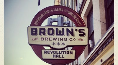 Photo of Brewery Brown's Brewing Company at 417 River St, Troy, NY 12180, United States