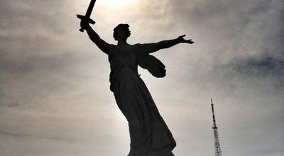 Photo of Monument / Landmark Родина-мать зовёт! at Мамаев Курган, Волгоград, Russia