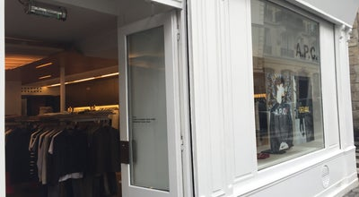 Photo of Clothing Store A.P.C. at 112 Rue Vieille Du Temple, Paris 75003, France