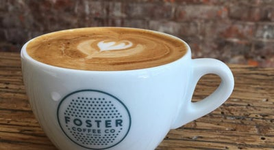 Photo of Coffee Shop Foster Coffee Company at 115 S Washington St, Owosso, MI 48867, United States