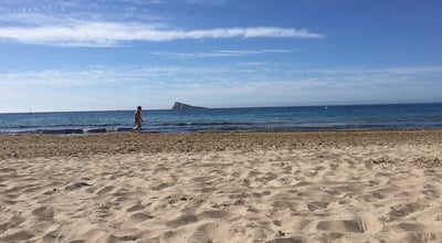 Photo of Beach strand benidorm at Spain