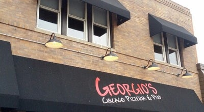 Photo of Pizza Place Georgio's Chicago Pizzeria & Pub at 75 E Woodstock St, Crystal Lake, IL 60014, United States